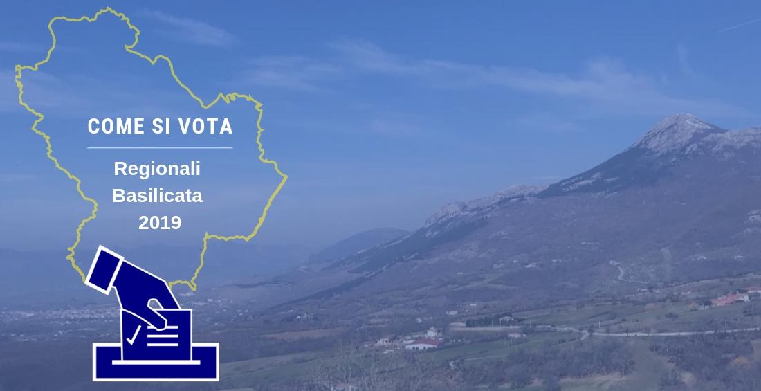 Regionali in Basilicata, come votare in modo corretto