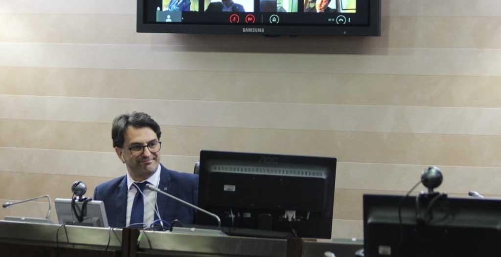Il messaggio di incoraggiamento e speranza del Presidente Cicala