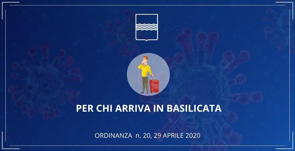 Tampone per chi entra in Basilicata