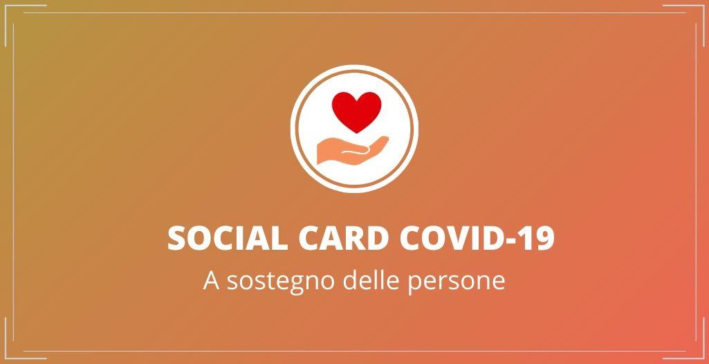 Social card Covid19: un aiuto per le famiglie in difficoltà