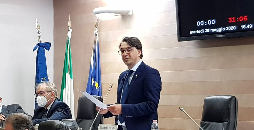 Covid-19: Il Presidente del Consiglio regionale della Basilicata convoca l'Assise