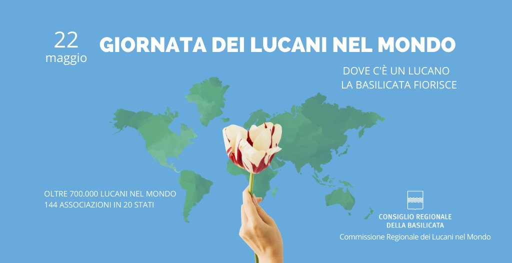 """Cicala: """"Giornata dei Lucani nel mondo nel segno dell'identità"""""""