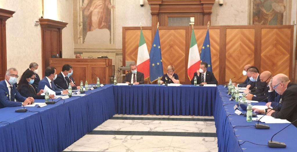 """Il Presidente Carmine Cicala in Senato: """"Valorizzare il ruolo delle Assemblee legislative"""""""