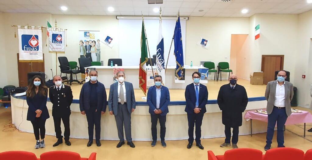 Il Presidente Cicala a Grassano: l'importanza della donazione del sangue