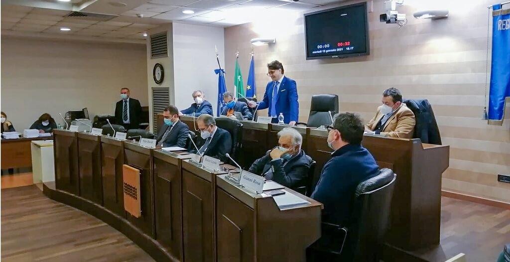 Scorie nucleari in Basilicata, l'intervento di Cicala in Aula