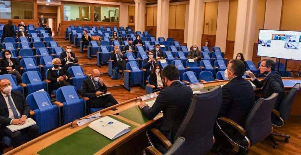 Assemblee legislative, Presidente Cicala incontra Ministro Boccia